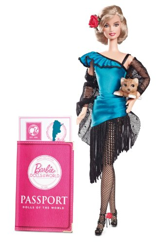Barbie Collector Dolls Of The World Argentina front-995280