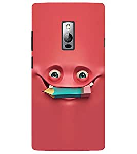 Evaluze smile Printed Back Cover for ONE PLUS TWO