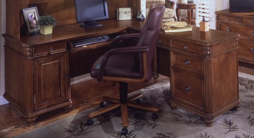 Office Furniture - L-Shaped Computer Desk - Executive Office Furniture / Home Office Furniture - 7480-48