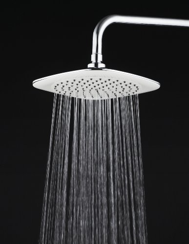 Blansdi ABS plastic with excellent overall performance rain shower spray and message round shower head