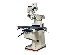 Jet 690117 JTM-1050 230-460-Volt 3 Phase Variable Speed Vertical Milling Machine with Acu-Rite 200M Digital Read Out and Powerfeed (X-Axis)