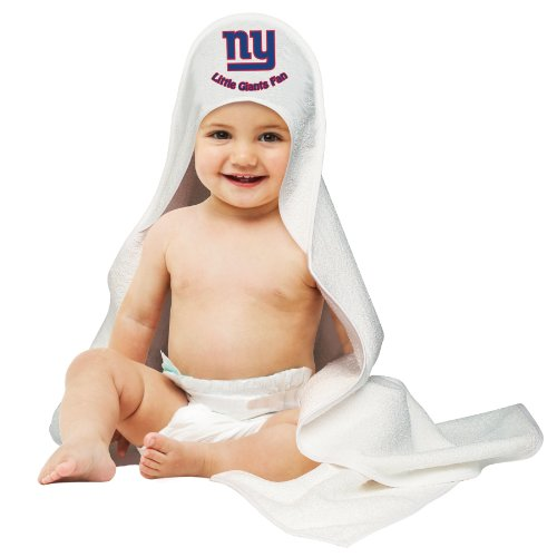 Nfl New York Giants White Hooded Baby Towel front-538622