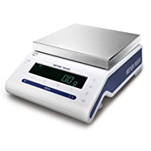 Mettler Toledo MS8001S NewClassic MS Precision Balance, 8200g Capacity, 0.1g Readability