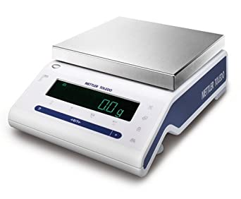 Mettler Toledo MS8001S NewClassic Precision Balance, 8200 g Capacity, 0.1 g Readability