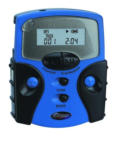 KB Gear JamP3 Digital Audio Player (Blue)