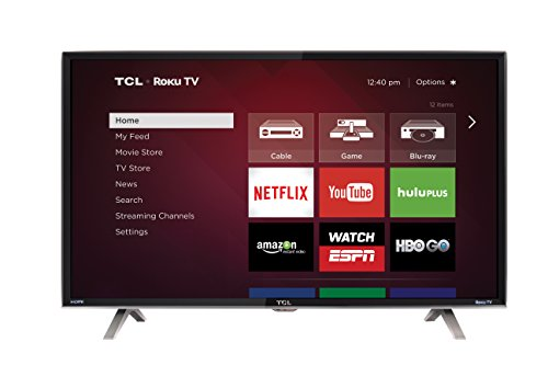 TCL 40FS3850 40-Inch 1080p Roku Smart LED TV (2015 Model)