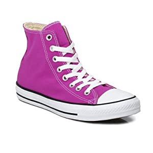 Converse Chuck Taylor Hi Purple Cactus Flower Trainers-UK 3
