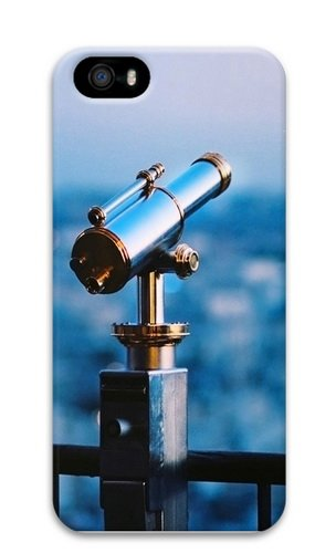 Astronomical Telescope Polycarbonate Hard 3D Case Cover For Iphone 5 And Iphone 5S