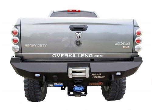 Road Armor 44100B Satin Black Rear Stealth Bumper for Dodge RAM HD/1500 (Road Armor Bumper compare prices)