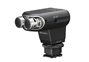 Sony ECM-XYST1M Stereo Microphone (Black)