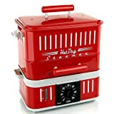 Cuizen 800-watt Hot-dog Steamer with Bun Warmer