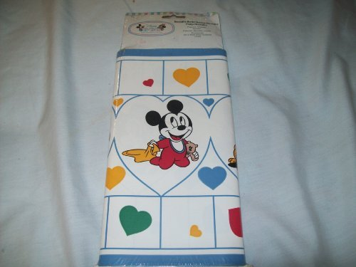 Disney Mickey Mouse Decorative Wall Border - 12.8 sq ft -