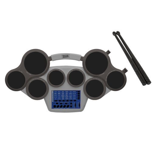 first act fd318 electronic drum pad silver import it all. Black Bedroom Furniture Sets. Home Design Ideas