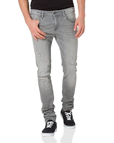Cross Jeans Vaquero Toby Gris Claro