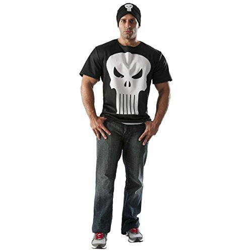 GSG Hero Shirts Adult T-Shirt Costume Marvel Halloween Fancy Dress (Female Marvel Characters Costumes)