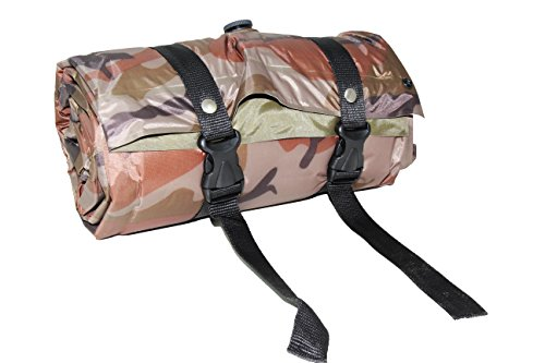 US Military Camouflage Extensible Self Inflating Sleeping Pad Camping Mattress with Pillow
