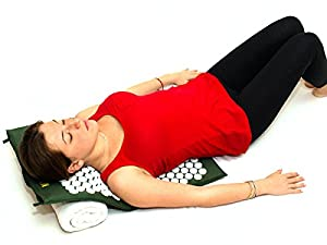 Nayoya Acupressure Mat for At Home Back Pain Sciatica Fibromyalgia Relief from Nayoya Wellness