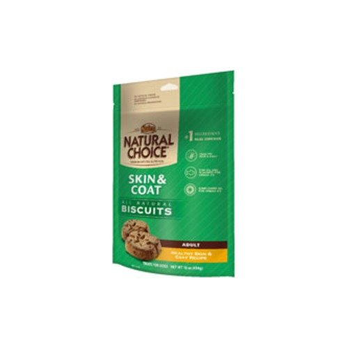 Nutro Natural Choice All Natural Healthy Skin & Coat Dog Biscuits 16-Oz Bag