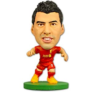 Liverpool F.C. SoccerStarz Suarez. A perfect product/gift to show support for the team you love. Also availible in other clubs. by Liverpool