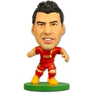 Liverpool FC. Luis Suarez SoccerStarz Figure with Collectors Card by Liverpool F.C.