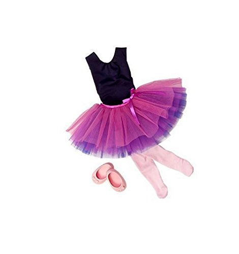 Our Generation Dance Tulle You Drop Ballerina Outfit and Accesory Set for 18