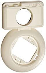 [Fujifilm Instax Mini 7s Mini 8 Selfie Lens] -- CAIUL Camera Style Instax Close Up Lens with Self-portrait Mirror For Fujifilm Instax Mini 8 mini 7s Camera and Polaroid 300 (White)
