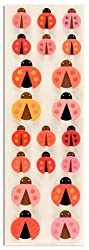 Martha Stewart Crafts Pink-Red Ladybug Stickers By The Package