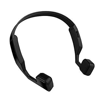 Uniway VP1 High Definiation Bluetooth Headphones Wireless Stereo Sports Headset Sweatproof Running Earbuds with Microphone-White