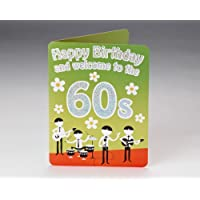 Milestones Happy 60th Birthday Card