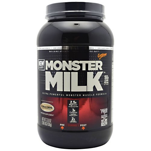 Monster Milk - Monster Milk Vanilla Creme, 2.06 Lb Powder