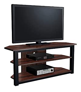 "EXP Entertainment 55"" Flat Panel Plasma LCD HD TV Stand Media Console Center"