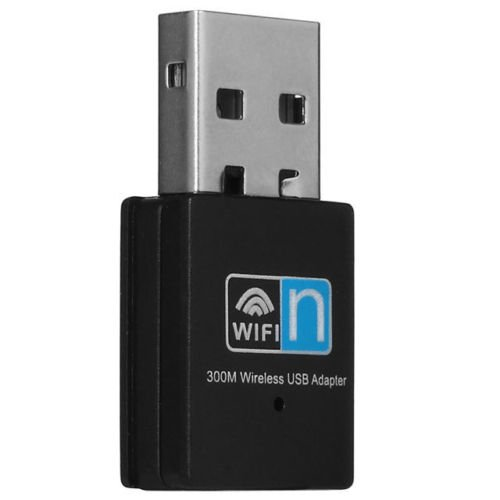 Generic Mini 802.11N/G/B 300Mbps Wireless Usb Wifi Adapter Lan Internet Network Adapter