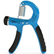 Grip Strengthener – Adjustable Hand E…