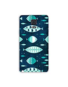 SAMSUNG GALAXY NOTE Edge ht003 (204) Mobile Case from Mott2 - Fish and Fishes (Limited Time Offers,Please Check the Details Below)