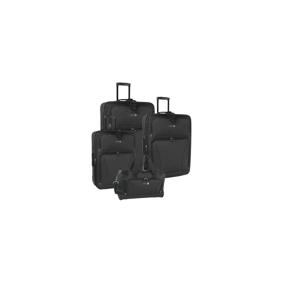 Travel Gear Galaxy 4 Piece Luggage Set 1102P0 Color Blue