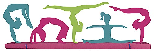 Paper House Productions STTL-0017E 3D Cardstock Stickers, Gymnastics (3-Pack) (House Of Card 3 compare prices)