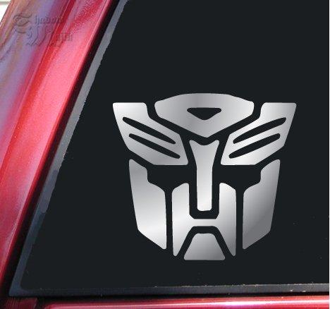 Transformers Autobot Vinyl Decal Sticker - Shiny Chrome