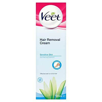 Veet Sensitive Skin Hair Removal Cream Aloe Vera & Vitamin E 100ml