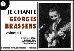 Je Chante Georges Brassens Paroles Seules Avec Accords Pour Tous