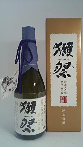 獺祭【遠心分離・専用箱入り】磨き23・二割三分 720ml(旭酒造・山口県)
