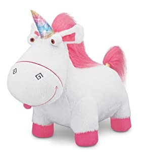 卑鄙的我Despicable Me 2 Agnes' Fluffy Unicorn Plush 毛茸茸的独角兽 $29.99