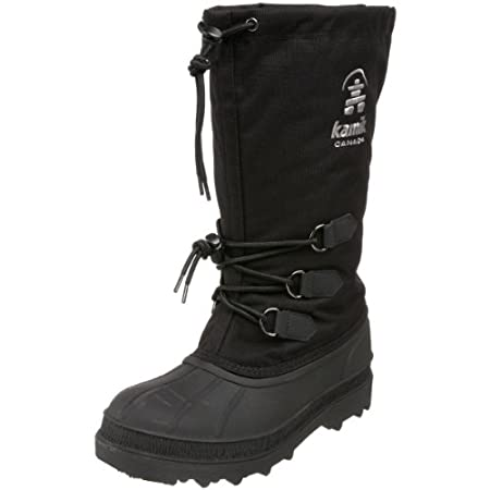 Kamik's® Classic collection is just that - a boot that has been relied on for generations. The Kamik® Canuck Winter Boot offers impressive protection from the elements. The tall shaft, waterproof construction, and warm removable liner combine to allo...