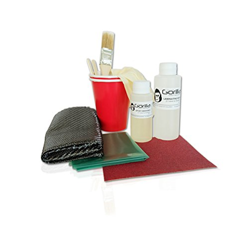 Gorilla carbonworksTM Carbon fiber composites repair kit (Carbon Fiber Repair compare prices)