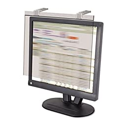 LCD Protect Privacy Antiglare Deluxe Filter, 19\'\'-20\'\' Widescreen LCD, Silver