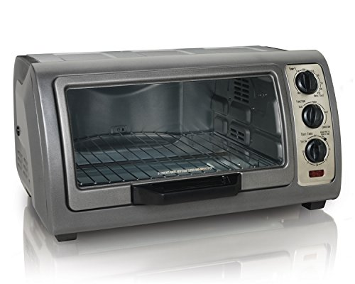 Hamilton Beach Easy Reach Oven With Convection Silver