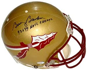 Bobby Bowden signed Florida State Seminoles Full Size Replica Helmet
