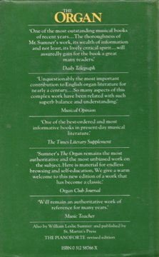 The organ: Its evolution, principles of construction and use