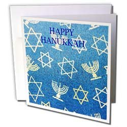 Florene Jewish Theme - Hanukkah - Greeting Cards-6