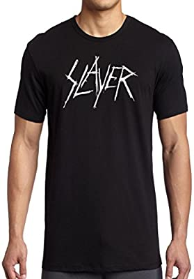 Slayer White Logo - Thrash Metal T-Shirt