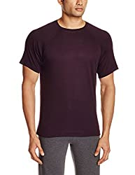 TUNA London Mens Cotton T-shirt (8907158017817_STM-22_WINE_L)